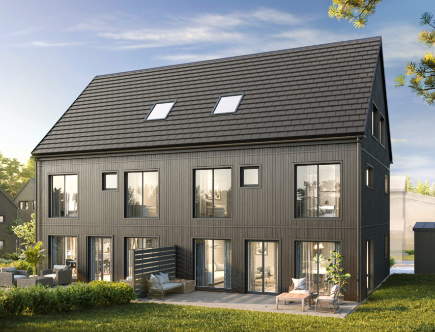 Nyproduktion av bostäder i Storstockholm, Åkersberga